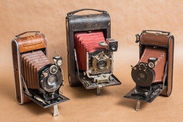retro fotoaparáty